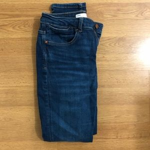 ZARA Z1975 High-waisted, denim jeans